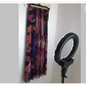 Show Me Your Mumu Maxi Skirt Multicolor Size L
